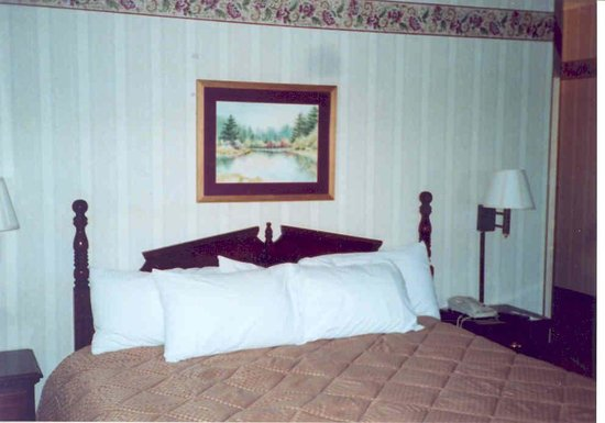 BEST WESTERN Center Pointe Inn: King Size Bedroom