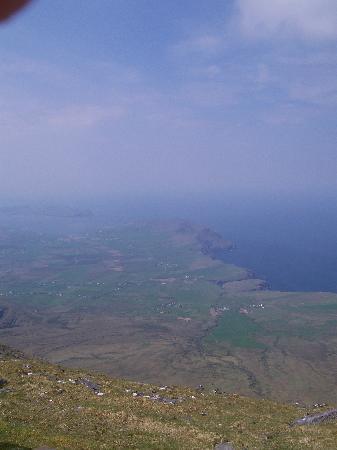Mount Brandon: Slea Head view from the peak