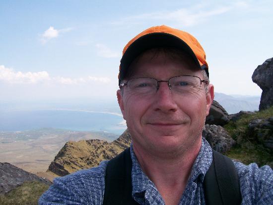 Mount Brandon: Happy Hiker