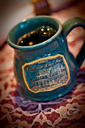 Victorian Lace Inn: Love their Coffee