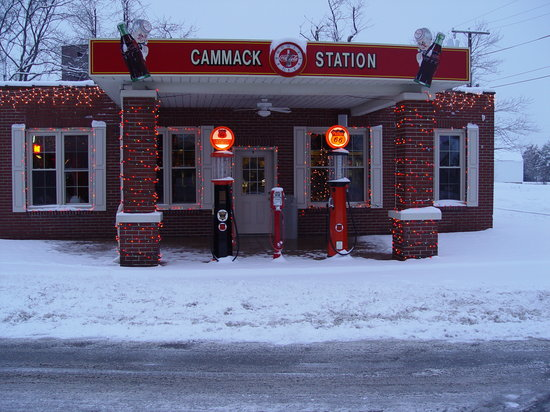 Muncie, Индиана: Winter 2007 Cammack Station