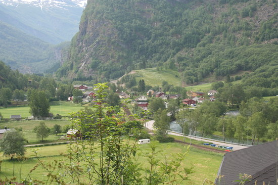 Flåm, Norge: City of Flaam, Norway