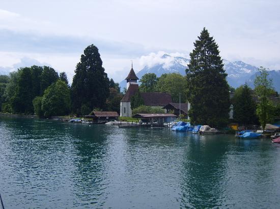 Krone Hotel-Restaurant: The lake.