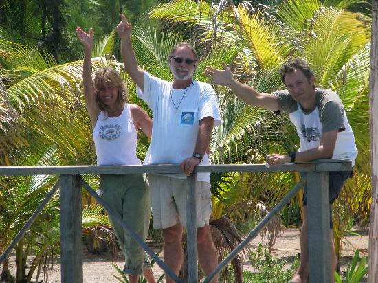 Thatch Caye Resort: Your Hosts