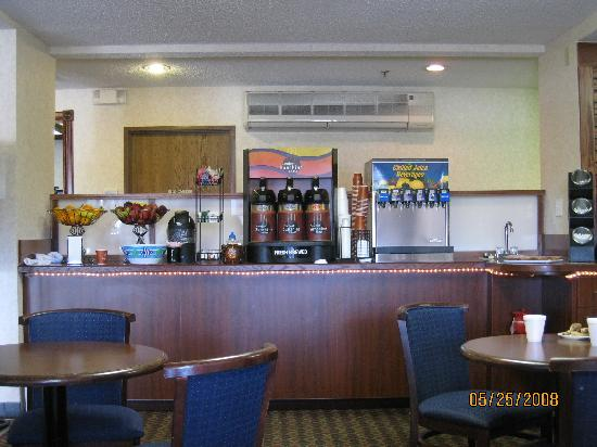 Coffee, Beverages Corner - Dunkirk, N.Y.; Comfort Inn