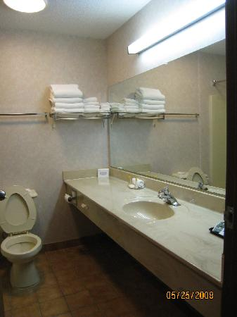 Bathroom - Dunkirk, N.Y.; Comfort Inn