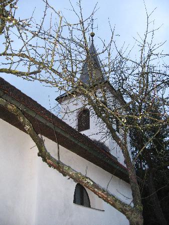 Prenocisca - Bed & Breakfast Zigon: St. Luke's church