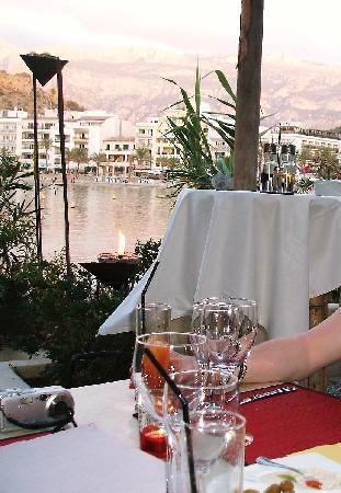 Bar and Restaurant Agapanto: Restaurant Agapanto - Beautiful tableau in sunset