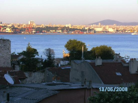 Hotel Sebnem : View from the terrace