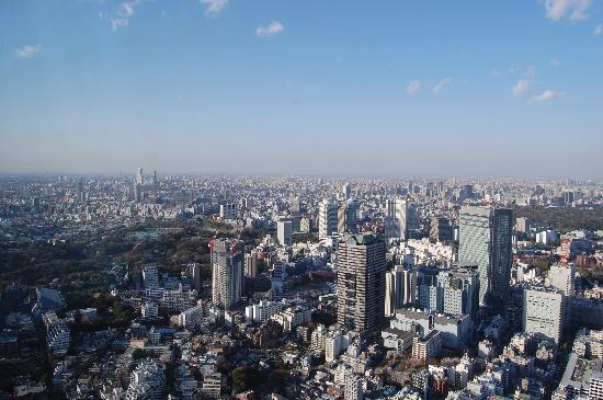 Tokio, Japón: View from the Club Lounge, Ritz Carlton Tokyo