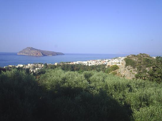 Πλατανιάς, Ελλάδα: from within Platania city, great view huh?