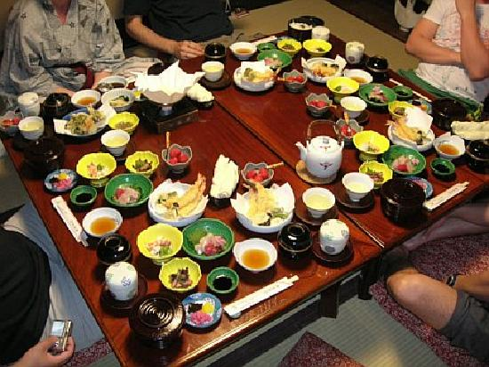 Inn Kawashima: Dinner for 6