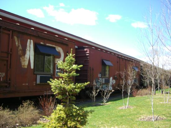 Northern Rail Traincar Inn: Exterior - Northern Rail Traincar B&B