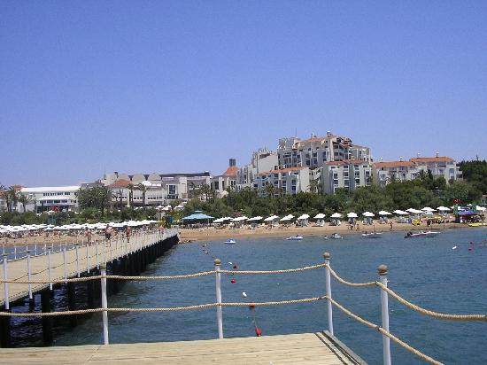 SENTIDO Perissia: View of hotel from jetty