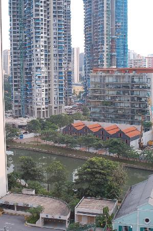 Hotel Miramar: View from the Bedroom window 1