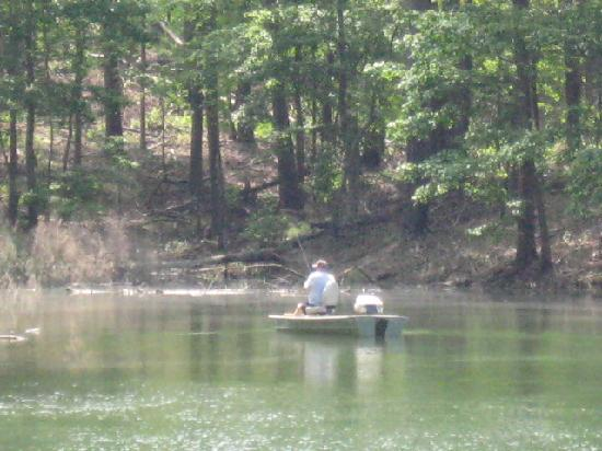 Red Top Mountain Park: Fisherman