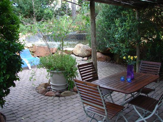 The Tarragon: View from within the Jasmine Cottage