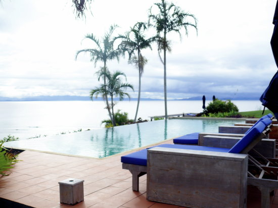 Taveuni Island Resort & Spa : The infinity pool