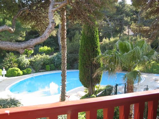 Pierre & Vacances Residence La Pinède : La vue de la terrasse