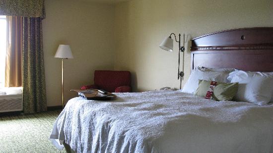 Hampton Inn Irvine East - Lake Forest: king bed
