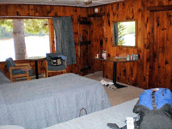 Stony Creek, estado de Nueva York: Interior of cabin #38
