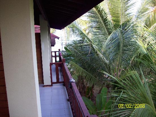 Florist Resort : Standard room balcony