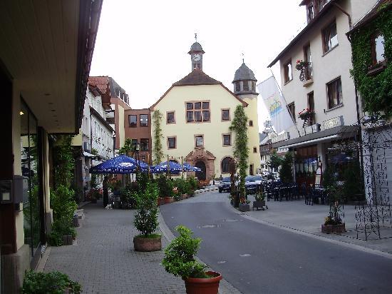 Schlüchtern, Allemagne : Town Centre