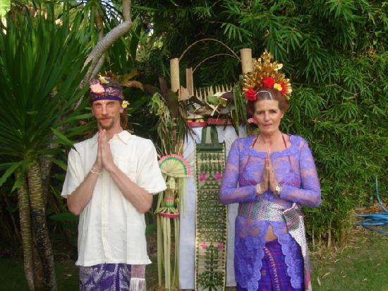 Bodyworks : Our Bali wedding