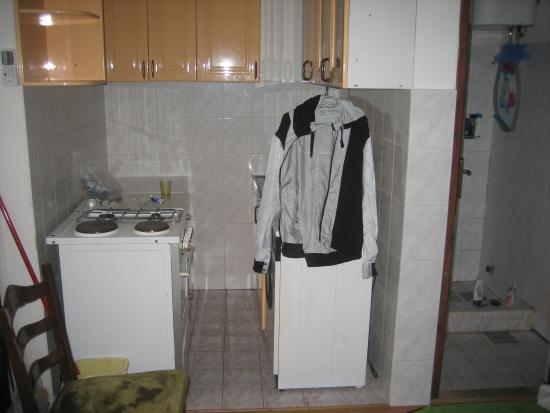 Gay Guesthouse and Apartments Belgrade: The kitchen