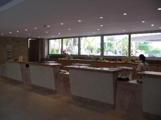 Atlantica Oasis Hotel : oasis reception
