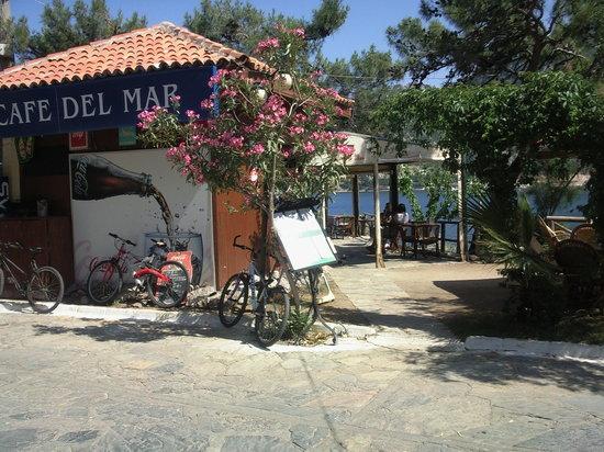 Cafe Del-Mar : Entrance