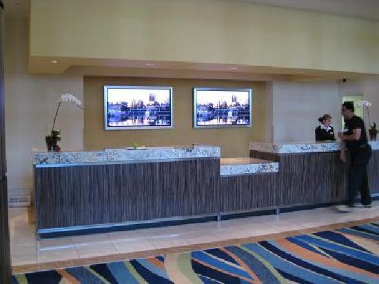 Hotel Reception Desk Picture Of Renaissance Long Beach