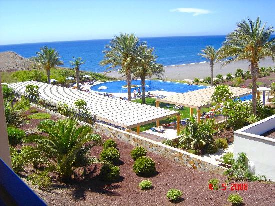 Playitas Hotel: Vista desde la habitación, De Lujo.