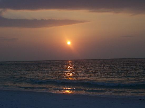 Bean Point: Another romantic Florida sunset!