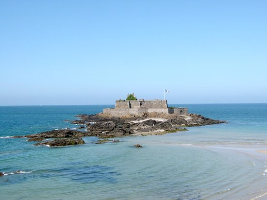 Saint-Malo, Francie: The view from the medieval wall