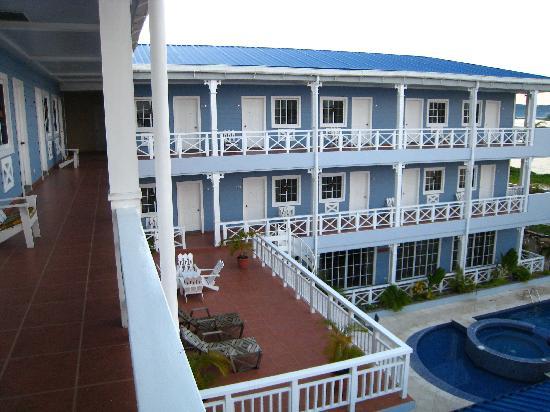 Hotel Casona del Lago: Hotel corridor