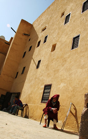 Fes, Marocco: Elder