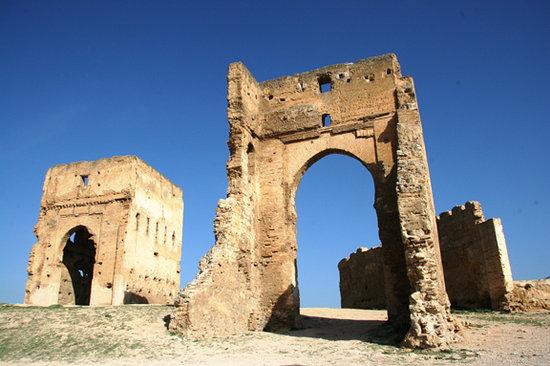 Fez, Marruecos: Menerid Tombs
