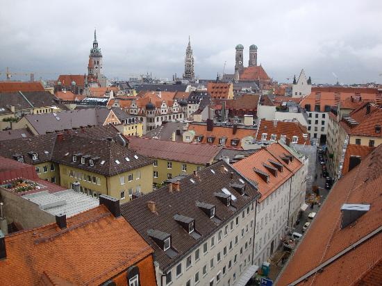 Mandarin Oriental, Munich : View from rooftop