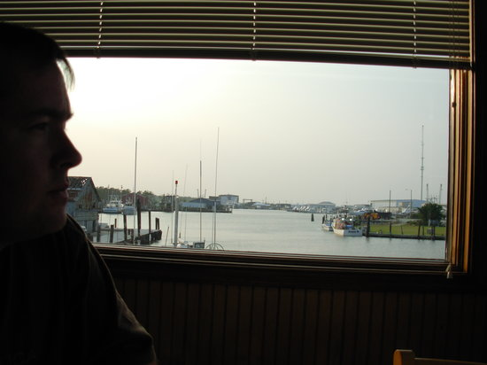 Fisherman's Wharf Restaurant: view from our table