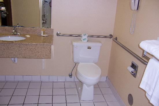 Comfort Inn & Suites: toilet & vanity/sink