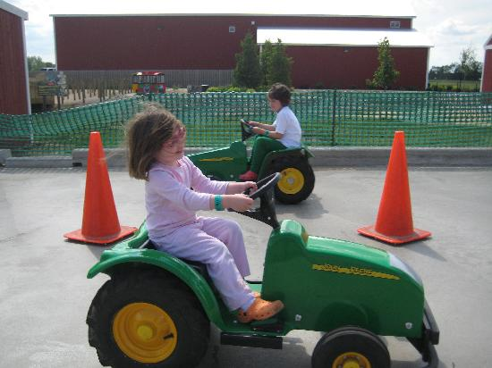 Fair Oaks Farms: Tractors were a hit