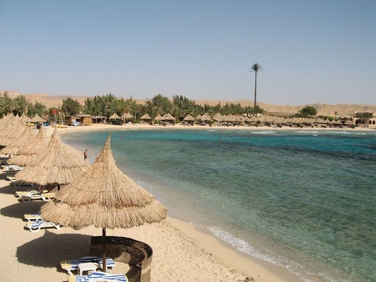 Movenpick Resort El Quseir: la spiaggia vista dal resort