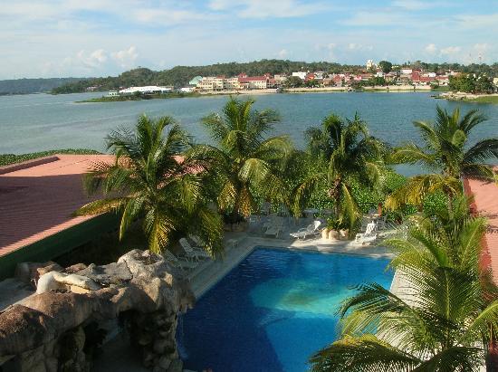 Santa Elena, Gwatemala: vista dalla camera