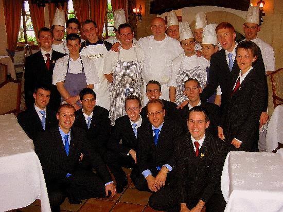 Domaine De Chateauvieux: The Chef and Staff