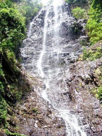 ลังกาวี ลากูน รีสอร์ท: The waterfall