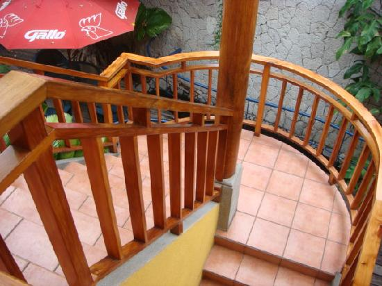 Hotel Primavera: stairs