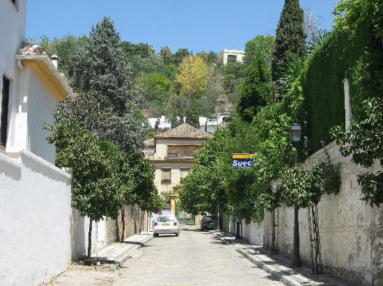 View of La Suecia from the street