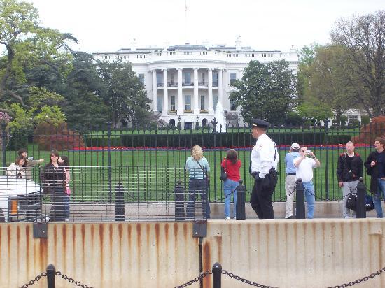 Back Of White House - Picture of White House, Washington ...