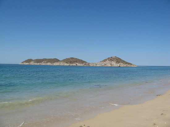 Sea of Cortez Beach Club: nearby islands/peninula
